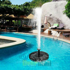 Solar Powered Floating Bird Bath Water Fountain Pump Garden Pond Pool Outdoor