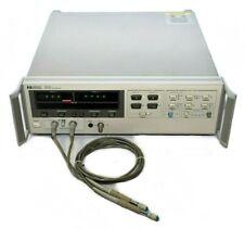 Hp Agilent 8508a Vector Voltmeter Analyzer Option 85081b Input Module With Probes