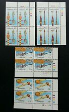 Malaysia Musical Instruments 1987 Music Song Traditional (stamp block of 4) MNH