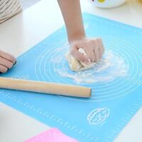 Silicone Baking Mats Non Stick Rolling Dough Liner Pad Kitchen Tray Table Sheet