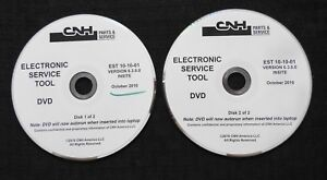 CASE NEW HOLLAND CNH ELECTRONIC SERVICE TOOL SOFTWARE VERSION 6.3.0.0 OCT 2010