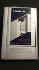 Vintage Retro Sanyo Walkman Mg-7 Personal Radio Cassette Tape Player Untested