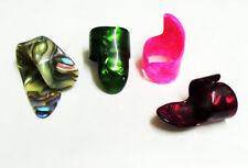 3 Finger Picks y 1 pulgar recoger Plectros fingerpicks UK entrega gratis de 1st Clase