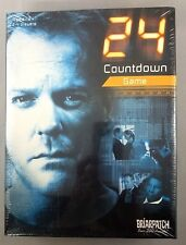 24 Countdown Board Game Jack Bauer Kiefer Sutherland 2006 New In Sealed Package