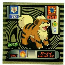 POKEMON NINTENDO SUPER DX GOLD 2000 N° D180 CANINOS Growlithe