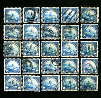 US Stamps # 572 F-VF Used Lot of 25 Catalog Value $225.00