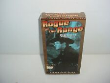Rogue of the Range Johnny Mack Brown VHS Video Tape Movie