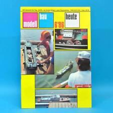Modellbau heute 6/1986 GST DDR Flugmodell Schiffsmodell Polikarpow Adm. Makarow
