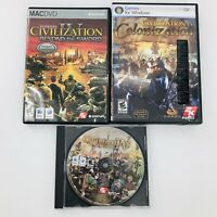 Sid Meier's Civilization IV - Warlords / Beyond the Sword / Colonization PC Mac