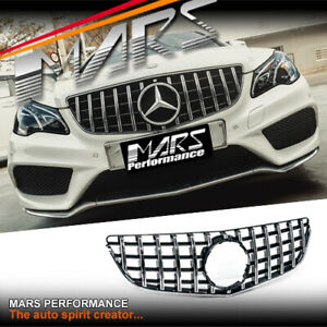 AMG GT-R Look Bumper Grille Grill for Mercedes-Benz E-Class W207 C207 A207 13-16