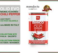Extra virgin olive oil ITALY  Olio extra vergine di oliva PUGLIA  PEPERONCINO