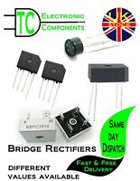 Bridge Rectifiers 2A-50A Different values available **UK SELLER**