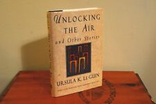 SIGNED Unlocking the Air by Ursula K. Le Guin (1996 Hardcover 1st/1st VG+/VG+)