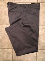 PERRY ELLIS * Mens Gray Casual Pants * Size 36 x 32 * EXCELLENT