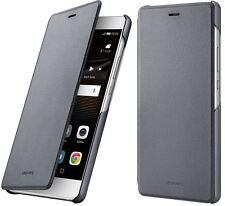 Huawei P9 Lite Flip Case Cover Tasche grau 51991527