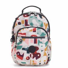 Kipling Small Backpack SEOUL S Tablet Protection MUSIC PRINT FW19 RRP £83
