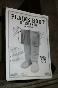 CRAFTOOL - TANDY LEATHER PLAINS BOOT MOCCASIN PATTERN