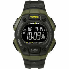Timex TW5M24200, Men's Ironman 30 Lap, Resin Watch, Alarm, Indiglo, Chronograph