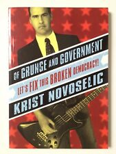 Of Grunge & Government - **SIGNED** by Krist Novoselic (Nirvana) - (eB2)