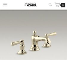 Kohler K-10577-4-AF Bancroft French Gold Widespread Lav Faucet