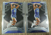 2019-20 Prizm Jordan Poole Prizm Rookie RC #272 GWS x2 Lot 🔥 📈