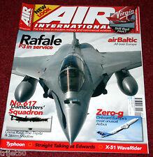 Air International 2009 September RAF Tornado,Virgin,Air Baltic,Sea King,Rafale