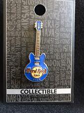 Hard Rock Cafe Lyon France Blue Core Guitar Pin Brandnew