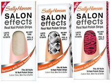Sally Hansen Salon Effects Real Nail Polish Strips - LOT OF 3! Assorted Colors!