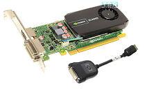 Dell Nvidia Quadro 600 Video Graphics Card 1GB Win10 Win7 DDR3 PCIe 2.0 05YGHK