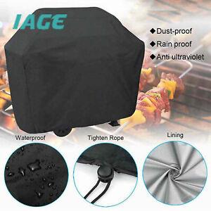 Für  Q3000 Q2000 BBQ Grill Full Cover Outdoor Wasserdichter Schutz Schwarz