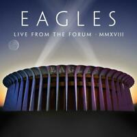 Eagles Live From the Forum MMXVIII 2 CD & DVD All Regions Digipak NEW