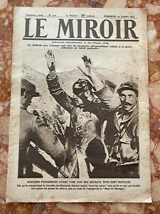 Militaria Journal LE MIROIR n°100 du 24-10-1915 (envoi monde gratuit)