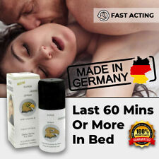 NEW SUPER VIGA 240000 GERMAN NATURAL PREMATURE EJACULATION SEX DELAY SPRAY LONG
