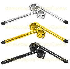 CNC Motorcycle Riser/Nomal 50MM Fork Clip Ons Handle Bars handlebars 1 Pair