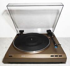 vintage turntable Plattenspieler belt drive record player Sharp RP-200