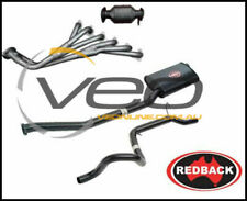 "FORD FALCON EA-AU 6CYL 4.0L SEDAN REDBACK EXTRACTORS HI FLOW CAT 2 1/2"" CATBACK"