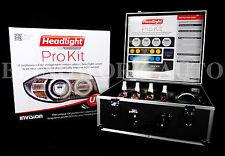 Invision Headlight Restoration PRO TRADE KIT UV protection  buffer clear coat