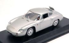 Porsche 356 B Carrera Gtl Abarth 1960 Prova Silver 1:43 Model BEST MODELS