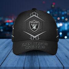 Las Vegas Raiders Classic 3D Cap Nfl Football 3D Hat Apparel Cap For Fan.