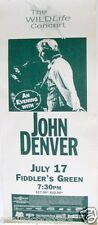 "JOHN DENVER ""THE WILDLIFE CONCERT"" 1995 DENVER TOUR POSTER - Country Folk Legend"