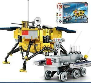 Sembo 203301 Chinese Chang'e 4 Lunar Probe interlocking Building Blocks Set