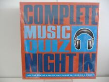 Complete Music Quiz Night In Brand New &Sealed - Music Trivia Game