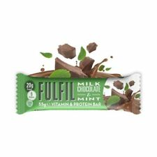 Fulfil Vitamin and Protein Bar - 15 Bars (all Flavours) Healthy Low Carb Snack Chocolate MINT