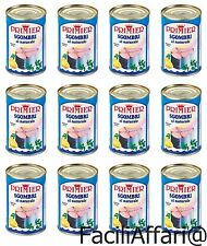 12 X Primier Sgombri Al Naturale in lattina sgombro in scatola senza grassi