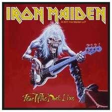 Iron Maiden - Fear of the Dark Live Patch Aufnäher Heavy Metal Kutte Rock NEU