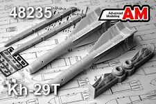 Advanced Modeling 1/48 Kh-29L/T,KAB-1500L,S-25,OFAB-500 bombs Su-24/25/27,MiG-29