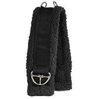 Intrepid International Western Fleece Cinch Girth, Black, 32-Inch
