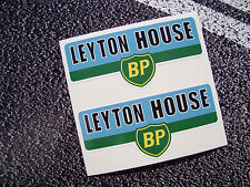 LEYTON HOUSE March Team BP Classic F1 Stickers Vintage Ivan Capelli Grand prix