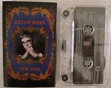 ELTON JOHN THE ONE AUSTRALIAN RELEASE CASSETTE TAPE