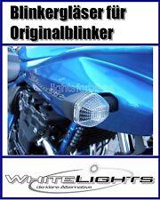 Weisse Blinker Gläser Suzuki GSF Bandit 600 650 1200 1250 clear signal lenses